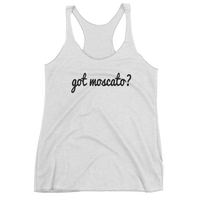 Got Moscato? Women's wine tank top