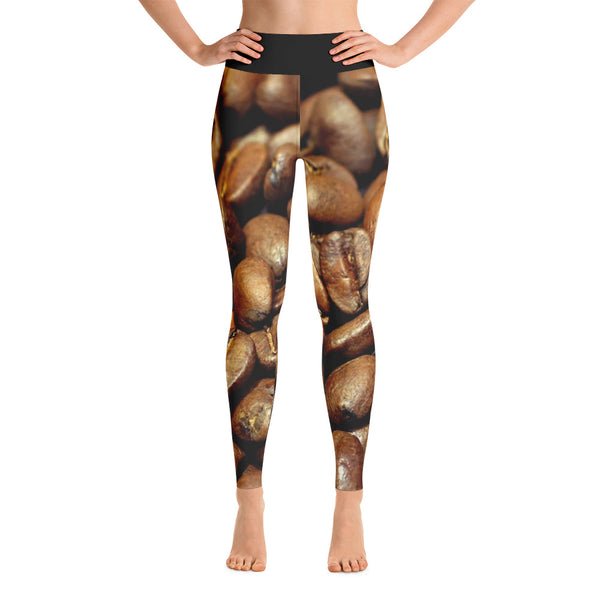 Coffee Bean Yoga Pants! / Leggings