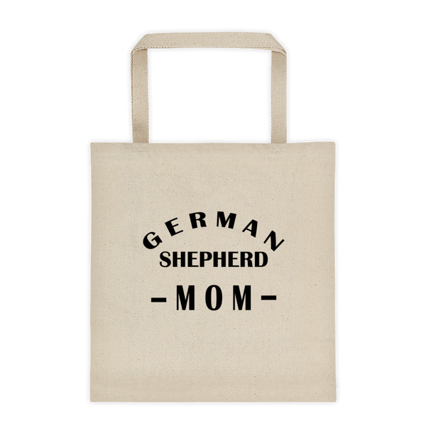 German Shepherd MOM Durable Canvas Tote bag