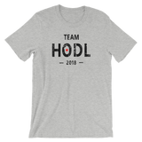 Team HODL 2018 Crypto Cryptocurrency Short-Sleeve Unisex T-Shirt