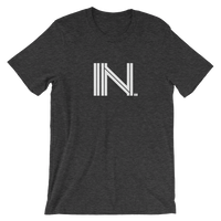 IN - State of INDIANA Abbreviation - Men's / Unisex short sleeve t-shirt