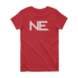 Ne- State of Nebraska Abbreviation Short Sleeve Women's T-shirt