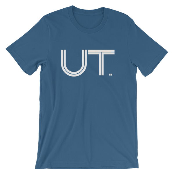 UT - State of Utah Abbreviation - Men's / Unisex short sleeve t-shirt