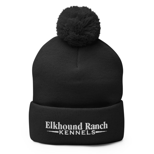 Elkhound Ranch Kennels Pom-Pom Beanie