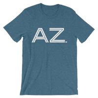 AZ - State of Arizona Abbreviation Men's / Unisex short sleeve t-shirt