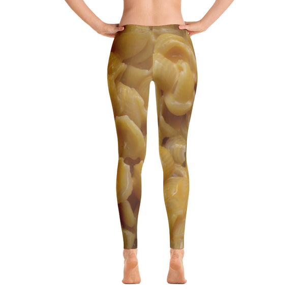 Macaroni and Cheese Leggings / Yoga Pants