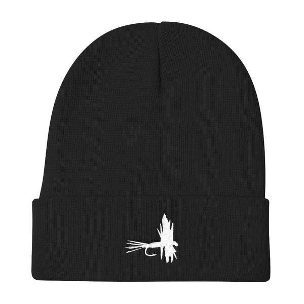 Fly Fishing Knit Beanie Stocking Cap