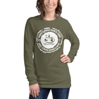 Elkhound Ranch Kennels ( 2 Sided ) RANCHER Unisex Long Sleeve Tee | Bella + Canvas 3501