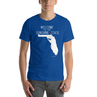 Welcome to the GUNSHINE State - Florida Short-Sleeve Unisex T-Shirt