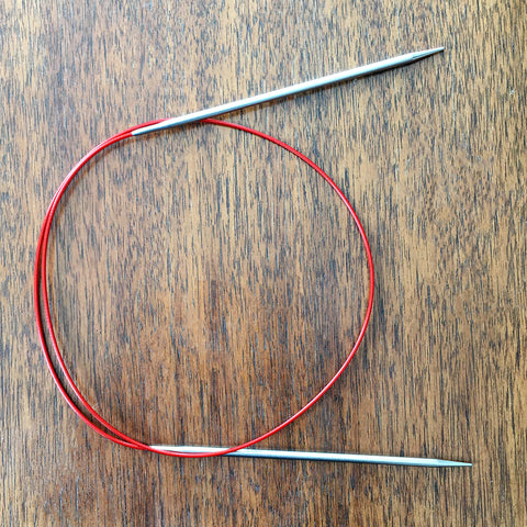"ChiaoGoo RED Lace Stainless Steel Circulars - 24"" / 80 cm"