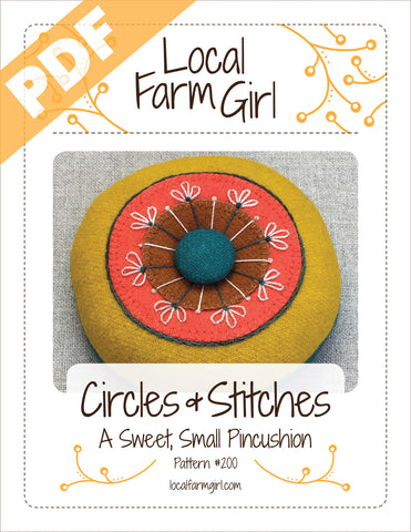 Circles and Stitches - PDF Pattern