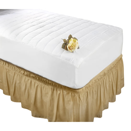 MATTRESS BED COV.QUILTED KING