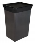 40L Waste Can - Carbon (Case Pack of 6)