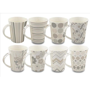 13OZ MUG ORGANIC SILVER (Case Pack of 48)