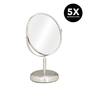 7IN VANITY STANDUP MIRROR-SAT 5X (Case Pack of 12)