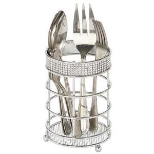 CUTLERY BASKET - PAVE DIAMOND (Case Pack of 12)