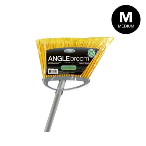 MEDIUM ANGLE BROOM SILVER (Case Pack of 24)