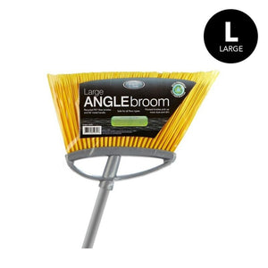 LARGE ANGLE BROOM SILVER (Case Pack of 24)