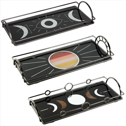Spiritual Vanity Tray Asst. 3 designs (Case Pack of 12)