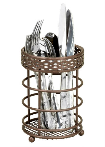 CUTLERY HOLDER -RUST LINKS (Case Pack of 24)
