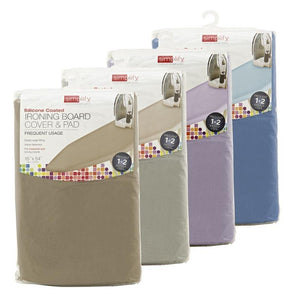 "Scorch Resistant Silicone Coated Ironing Board Padded Cover, Colors May Vary 15"" x 54"" (Case Pack of 36)"