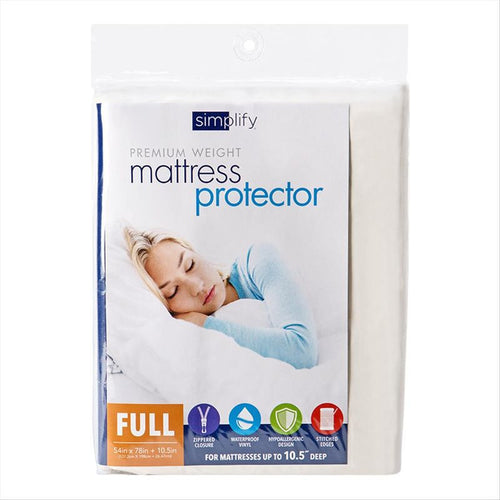 MATTRESS COVER ZIPPERED FULL. (Case Pack of 12)