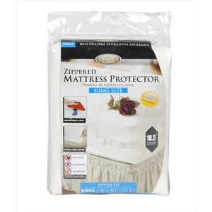 MATTRESS COVER ZIPPERED KING (Casae Pack of 12)