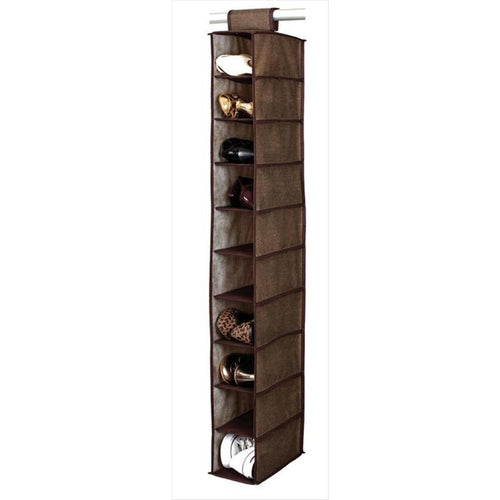 10 SHELF SHOE ORGANIZER