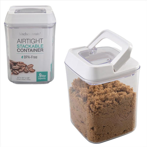 Kitchen Details .9L Airtight Stackable Container (Case Pack of 12)