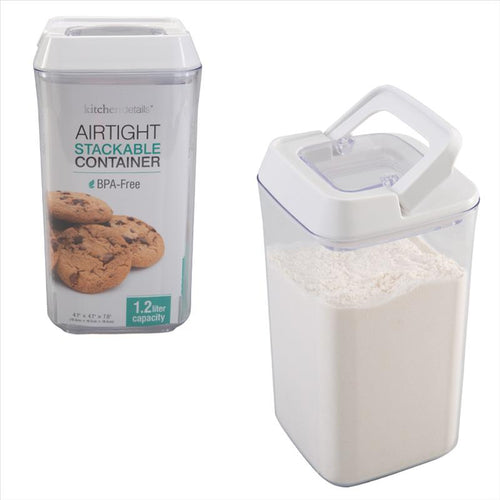 Kitchen Details 1.2L Airtight Stackable Container (Case Pack of 12)
