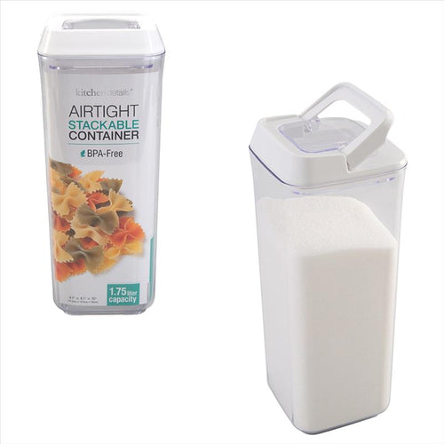 Kitchen Details 1.75L Airtight Stackable Container (Case Pack of 12)