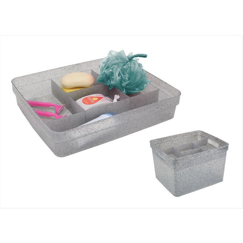 STACKING ACCESSORY TRAY-GRANITE-GREY 13.78X11.42X2.59