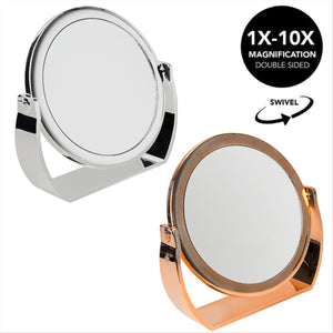 7 Inch Vanity Mirror  1x-10x magnification7 Inch Vanity Mirror  1x-10x magnification (Case Pack of 12)