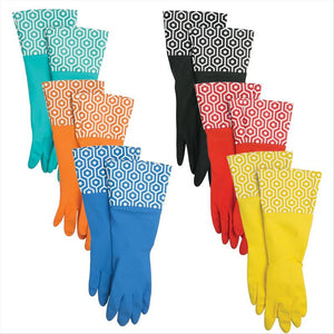 FASHION CLEANING GLOVES-HONEYCOMB (Case Pack of 48)