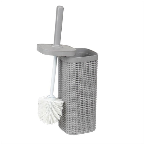 Bath Bliss Sailor Knot Toilet Brush in Grey (Case Pack of 12)