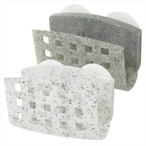 Bath Bliss Granite Suction Sponge Holder (Case Pack 36)