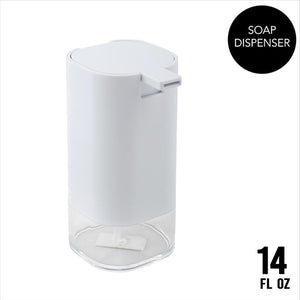 Bath Bliss Acrylic Soap Dispenser in White (Case Pack of 24)