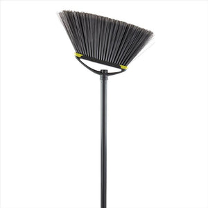 Large Deluxe Angle Broom W.Soft Corner Guards & Rotating  Hook (Case Pack of 12)