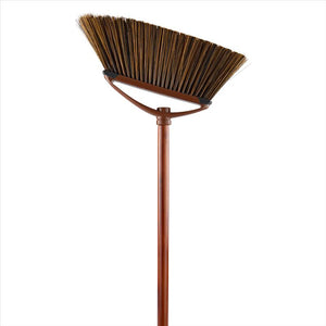 X-L Dlx Mahagony Angle Broom W,Soft Corner Guards With Soft Bristles (Case Pack of 12)