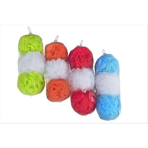 3PK SHOWER SPONGE 60G NET BAG (Case Pack of 36)