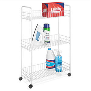 3 TIER SLIM CART 8X15.25X26.5