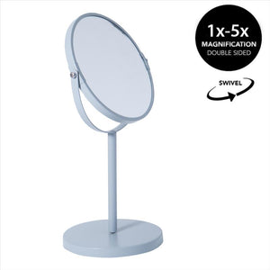 7IN VANITY STANDUP MIRROR-GRAY 5X (Case Pack of 12)