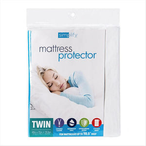 MATTRESS COVER ZIPPERED TWIN. (Case Pack of 24)