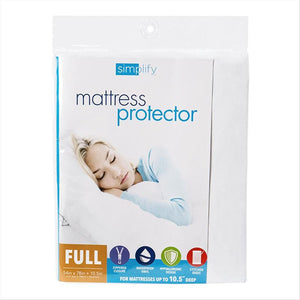 MATTRESS COVER ZIPPERED FULL. (Case Pack of 24)