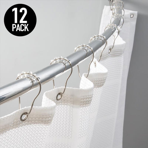 12PK ROLLER RINGS CLEAR (Case Pack of 72)