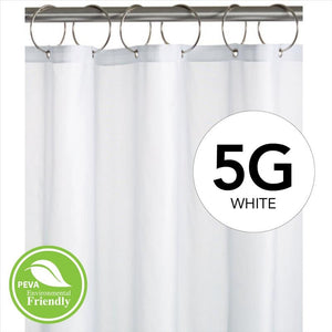 Peva Shower Curtain LIner 5 Gauge 70  x 72- White