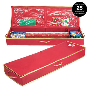 600D UNDER THE BED GIFT WRAP ORGANIZER COLOR BOX