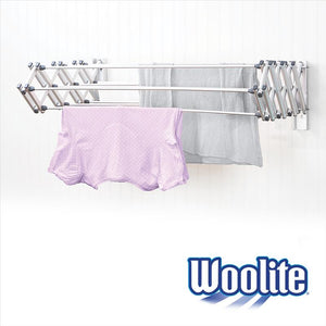 "COLLAPSIBLE ALUMINUM WALL DRYING RACK 36"" WIDE- ACCORDION 30LNFT IN RESHIPABLE BOX (Case Pack of 1)"