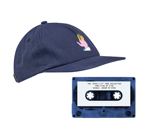 5-PANEL UNSTRUCTURED HAT + CASSETTE TAPE
