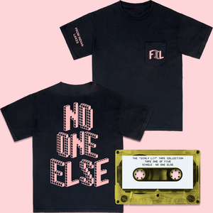 NO ONE ELSE T-SHIRT + CASSETTE TAPE